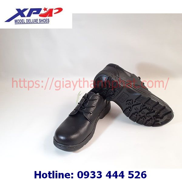 Giày bảo hộ lao động XP chỉ đen A08-1