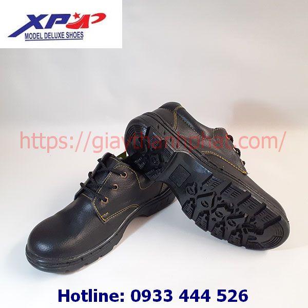 Giày bảo hộ lao động XP chỉ vàng A08-2