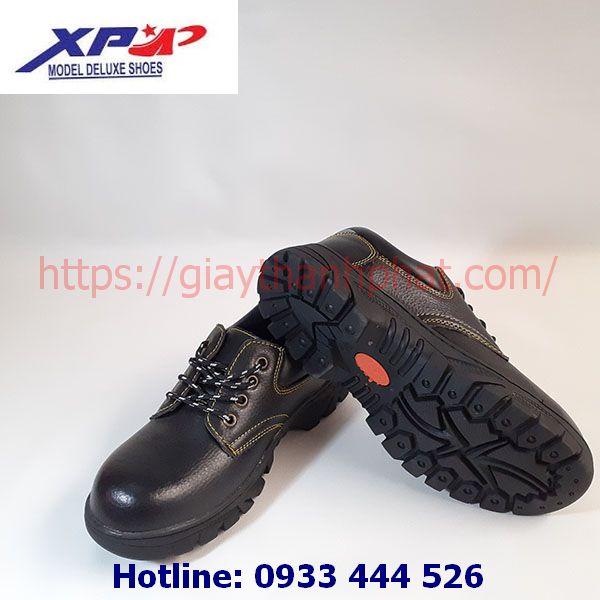 Giày bảo hộ lao động XP601-2 đế đen