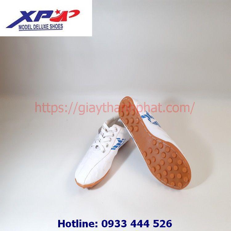 Giày vải đá bóng XP TP05 màu trắng