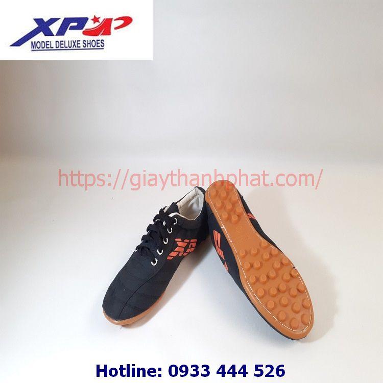 Giày vải đinh đá bóng XP TP05 màu đen