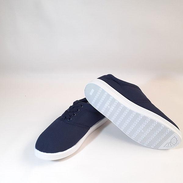 Giày vải XP cột dây nữ xanh TP14